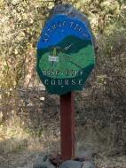 Klamath Basin Disc Golf logo