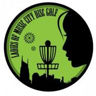 The Ladies of Music City Disc Golf logo