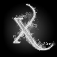 X - Step Disc Golf Club logo