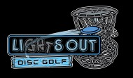 Lights-Out Disc Golf logo