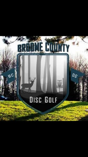 Broome County Disc Golf logo