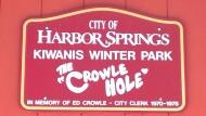 Crowle Hole Disc Golf logo