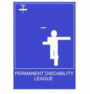 Permanent Discability logo