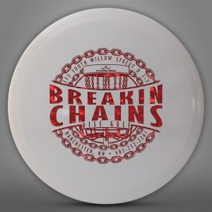 Breakin Chains Disc Golf logo