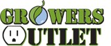 Growers Outlet disc golf frenzy logo
