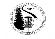 Sapphire Leaves Disc Golf Club logo