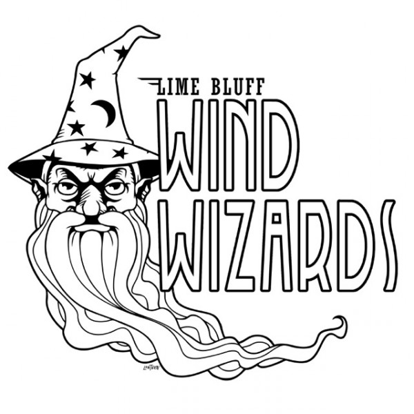 Lime Bluff Wind Wizards logo