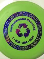 Club Chaos Detroit Disc Golf logo