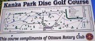 Franklin County Disc Golf logo