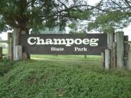 Friends of Champoeg Disc Golf logo