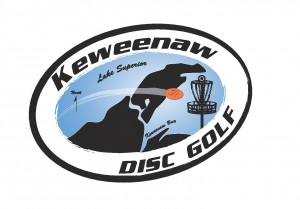 Keweenaw Disc Golf logo