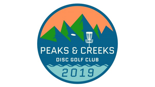 Peaks & Creeks Disc Golf Club logo
