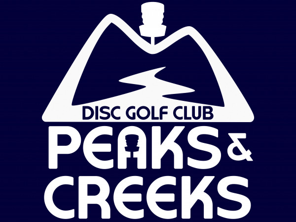 Peaks & Creeks Disc Golf Club logo