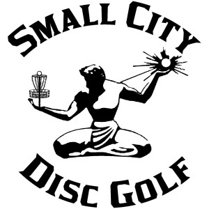 Small City Disc Golf logo