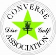 CONVERSE DISC GOLF ASSOCIATION logo
