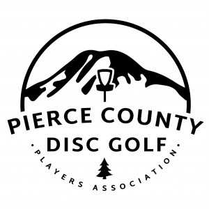 Pierce County Disc Golf Players Association logo