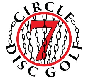 Circle 7 Disc Golf logo