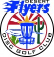Desert Flyers Disc Golf Club logo