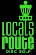 Locals Route Disc Golf Club logo
