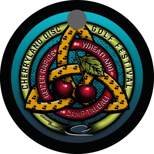 Cherryland Disc Golf Club logo