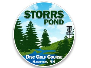 Storrs Pond Disc Golf Club logo