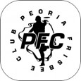 Peoria Frisbee Club (PFC) logo