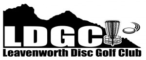 Leavenworth Disc Golf Club logo