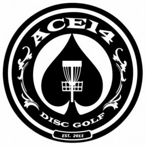 Ace14 Disc Golf logo