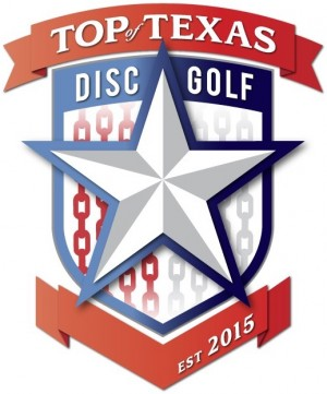 Top of Texas Disc Golf logo