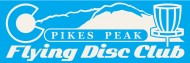Pikes Peak Flying Disc Club logo