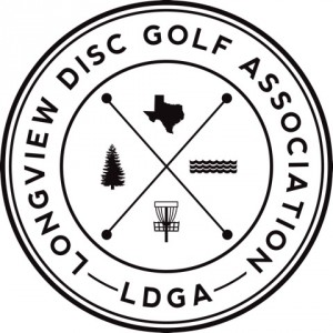 Longview Disc Golf Association (TX) logo
