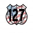 127 Disc Golf logo