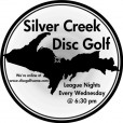 Silver Creek Disc Golf League logo