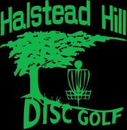 Halstead Hill Disc golf logo