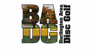 Burlington Area Disc Golf logo