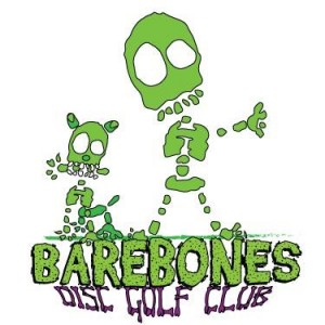 Bare Bones Disc Golf Club logo
