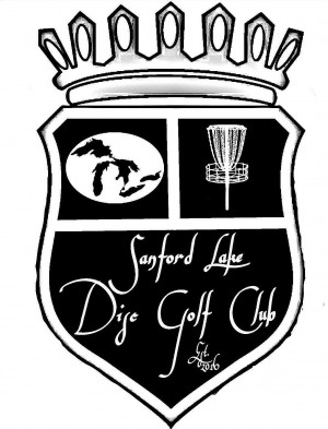 Sanford Lake Disc Golf Club logo
