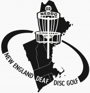 New England Deaf Disc Golf logo