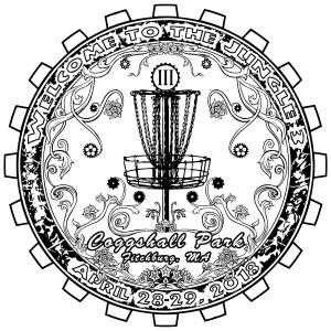 Coggshall Disc Golf Club logo