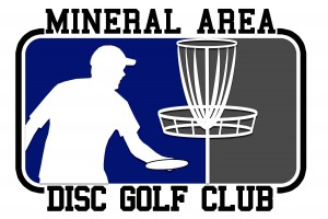 Mineral Area Disc Golf (MAD Golf) logo
