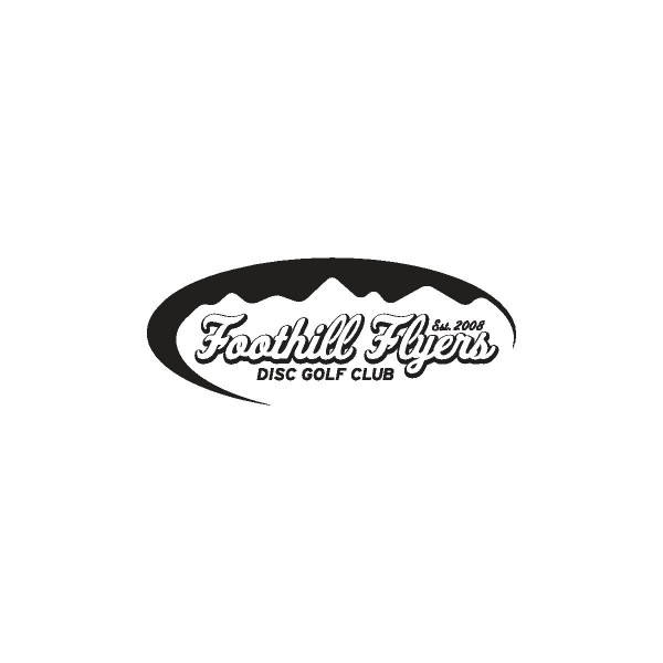 Foothill Flyers Disc Golf Club logo
