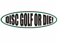 DISC GOLF OR DIE logo