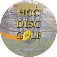 HCC Disc Golf Club logo