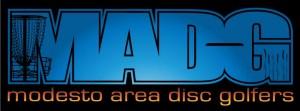 Modesto area discgolf club logo