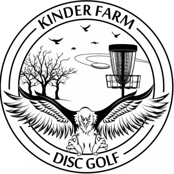 Kinder Farm Disc Golf Club logo