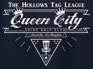 Queen City Disc Golf Club logo