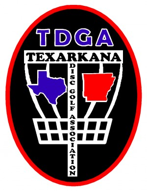 Texarkana Disc Golf Association logo