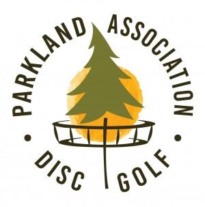 Parkland Association of Disc Golf logo