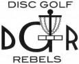 DGR-Disc Golf Rebels logo