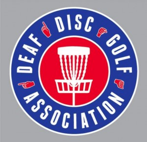DDGA Deaf Disc Golf Association logo